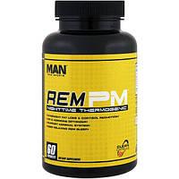 MAN Sports, Rem PM, вещество, вызывающее повышение температуры в ночное время, 60 капсул