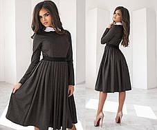 Нежное трикотажное  платье     , фото 3