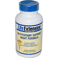 Life Extension, GH ночной состав для поддержки гипофиза, 120 капсул на растительной основе