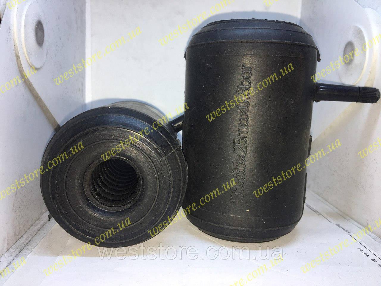 Пневмоподушки в пружину с отверстием под амортизатор (стойку) сквозные 135x85x25mm