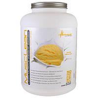 Metabolic Nutrition, MuscleLean, гейнер для увеличения веса сухих мышц, ванильный молочный коктейль, 5 фунтов.