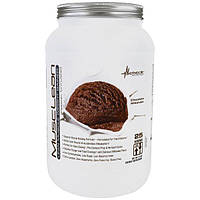 Metabolic Nutrition, MuscleLean, гейнер для увеличения массы сухой мускулатуры, шоколадный молочный коктейль, 2.5 фунта
