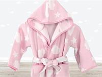 Халат детский Irya Cloud розовый на 7-8 лет