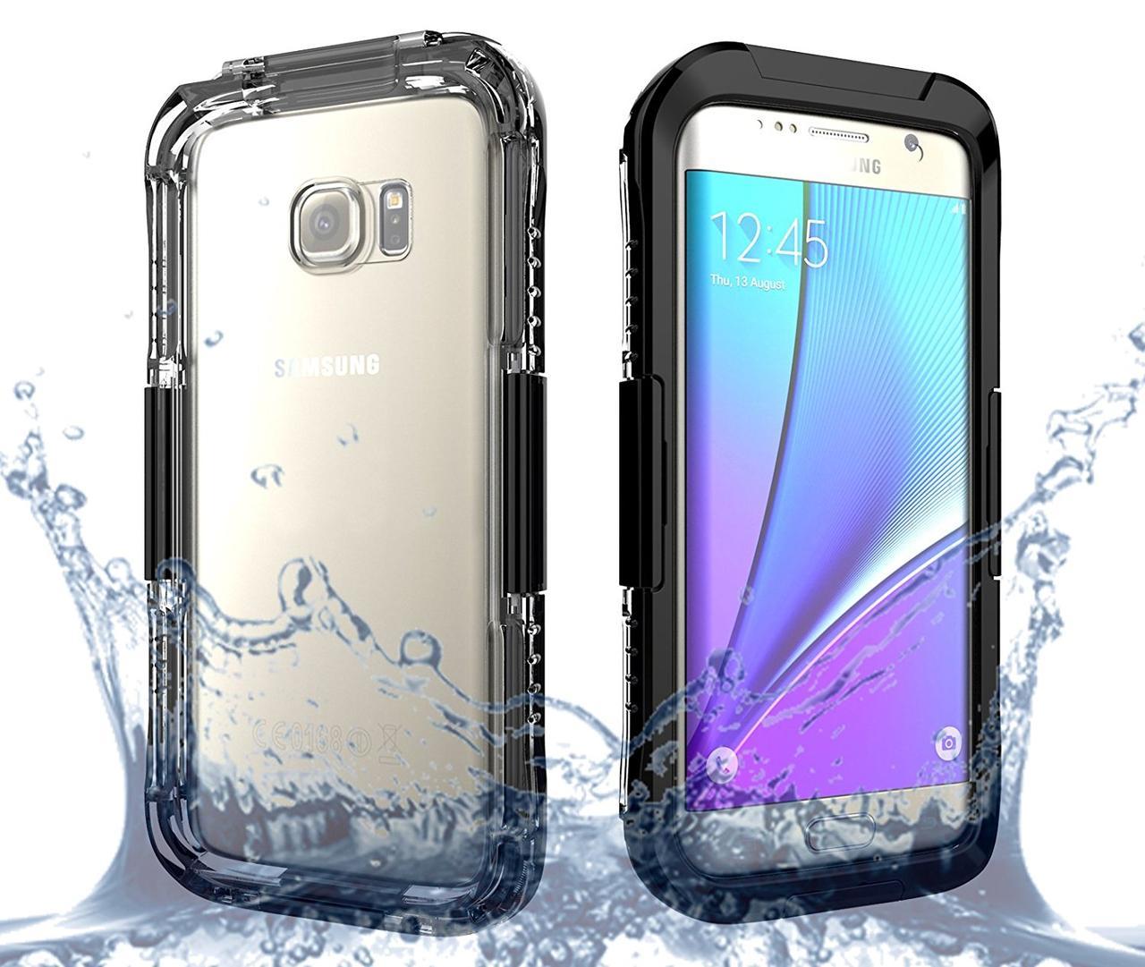 Подводный чехол аквабокс PRIMO для Samsung S7 Edge - Black