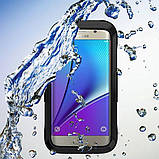 Подводный чехол аквабокс PRIMO для Samsung S7 Edge - Black, фото 3