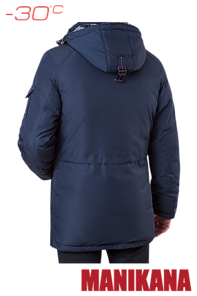 Зимняя мужская темно-синяя куртка MANIKANA (р. 48-56) арт. 17185 F, фото 2