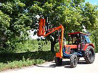 Навесной тракторный обрезчик ветвей и деревьев