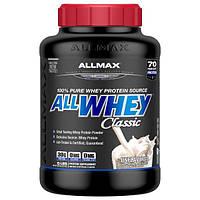 ALLMAX Nutrition, AllWhey Classic, 100% сывороточный протеин, без вкусовых добавок, 2,27 кг