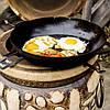 Сковорода жаровня 360х80 (чугунная, Ситон), фото 2