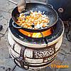 Сковорода жаровня 360х80 (чугунная, Ситон), фото 4