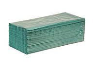 Полотенца бумажные листовые 200 шт. цветные макулатурные