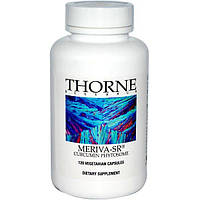 Thorne Research, Мерива-SR, фитосомы куркумина, 120 капсул на растительной основе