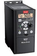 Преобразователь частоты VLT Micro Drive FC-051PK75S2E20H3XX 0,75kW 200 - 240 V, 1PH