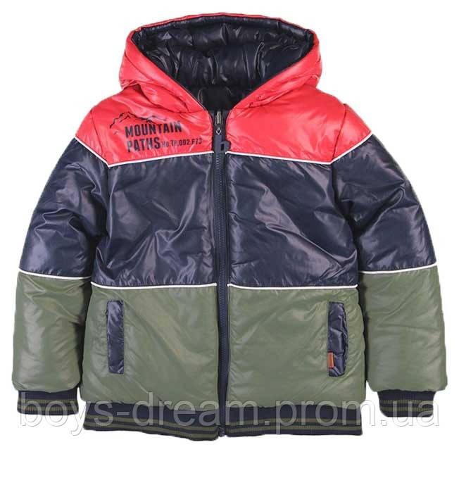 Зимняя двусторонняя куртка для мальчика от 7 до 16 лет Испания