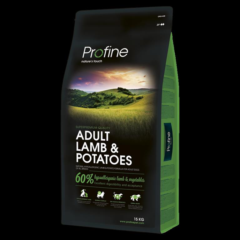 Profine ADULT LAMB & POTATOES ягненок и картофель для взрослых собак 3кг