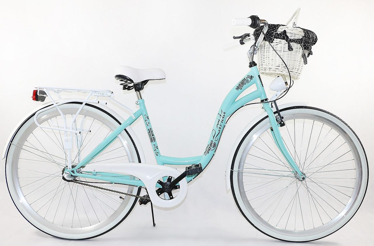 Велосипед Lavida 28 Nexus 3 Turquoise-White Польща