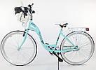 Велосипед Lavida 28 Nexus 3 Turquoise-White Польща, фото 2