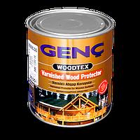Лак морилка Genc Varnished Wood Protector. 11 цветов. 0,75 л