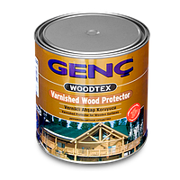 Лак морилка Genc Varnished Wood Protector. 11 цветов. 2,5л