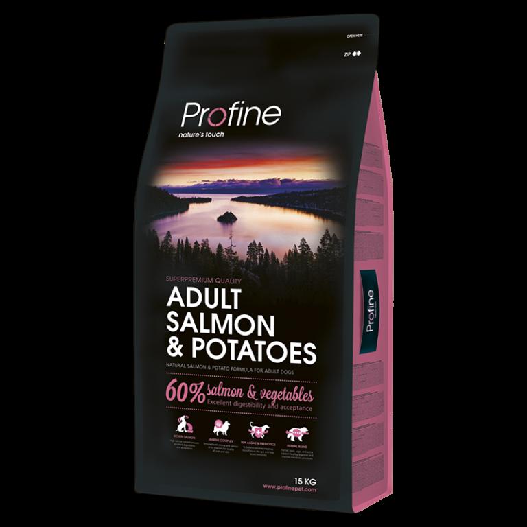 Profine ADULT SALMON & POTATOES лосось и картофель для взрослых собак 15кг