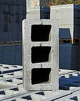 Шлакоблок стеновой пустотелый, М75
