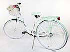Велосипед Lavida 28 Nexus 3 White-Mint Польща, фото 3