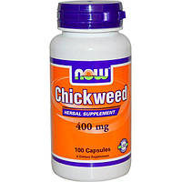 Now Foods, Chickweed, 400 mg, 100 Capsules