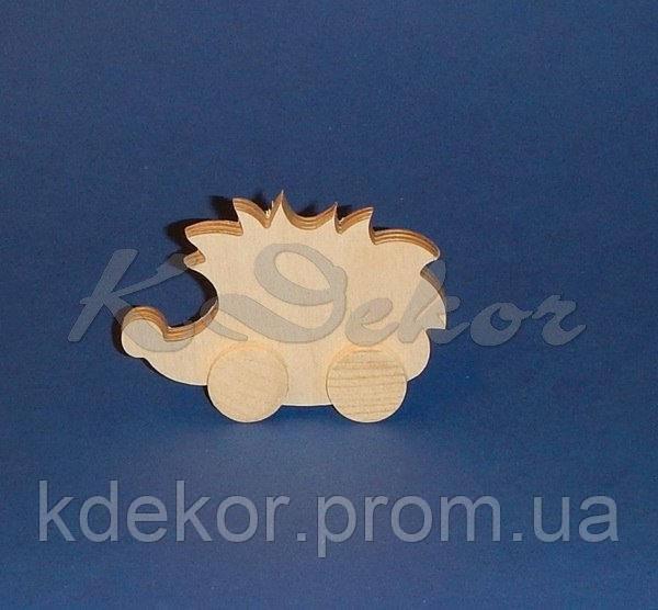 ЕЖИК (ЕЖ)  на колесиках (фанера 4мм.) заготовка для декупажа и декора