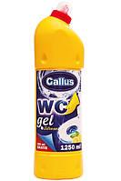 Средство для мытья унизата Gallus WC 1л (лимон)