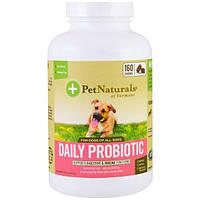 Pet Naturals of Vermont, Ежедневный пробиотик для собак, 160 жевательных пастилок