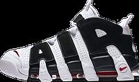 Баскетбольные кроссовки Nike Air More Uptempo White/Red/Black