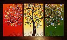 Модульная картина Дерево счастья