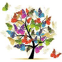 Картина по номерам без коробки Идейка Дерево надежды (KHO5507) 40 х 40 см