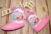 Детские теплые домашние сапожки для девочки