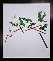 Картина на холсте Птицы