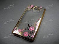 Полимерный TPU чехол Samsung Galaxy J7 2016 J710 (золотистый), фото 1