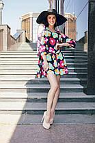 Нежное шифоновое мини платье , фото 2
