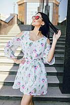 Нежное шифоновое мини платье , фото 3