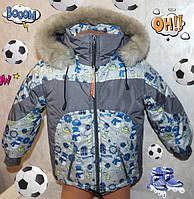Зимний комбинезон +куртка 32(5-6лет) размер