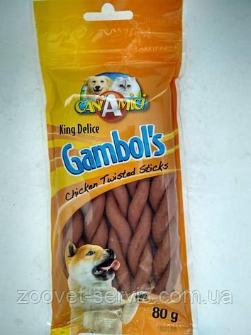 Лакомство для собак Косичка куриная Croci KingDelice , фото 2