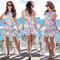 2ed22f14dd42 Платье с воланами и открытой спиной, цена 350 грн., купить в ...