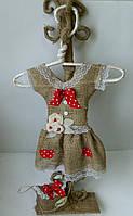 Декоративна статуетка плаття на вішаку Декоративная статетка Платье на вешалке