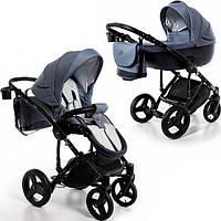 Детская универсальная коляска 2 в 1  Broco Porto 05,синяя