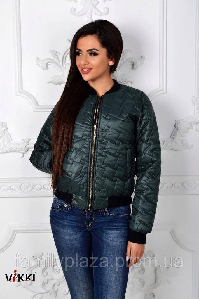 Короткая курточка с карманами. Батал