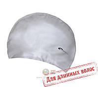 Шапочка для плавания лайкра Spokey Torpedo (original) для бассейна, для длинных волос, полиуретан