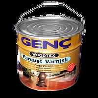 Паркетный лак Genc Parquet Varnish. Шелковисто-матовый. 12 кг