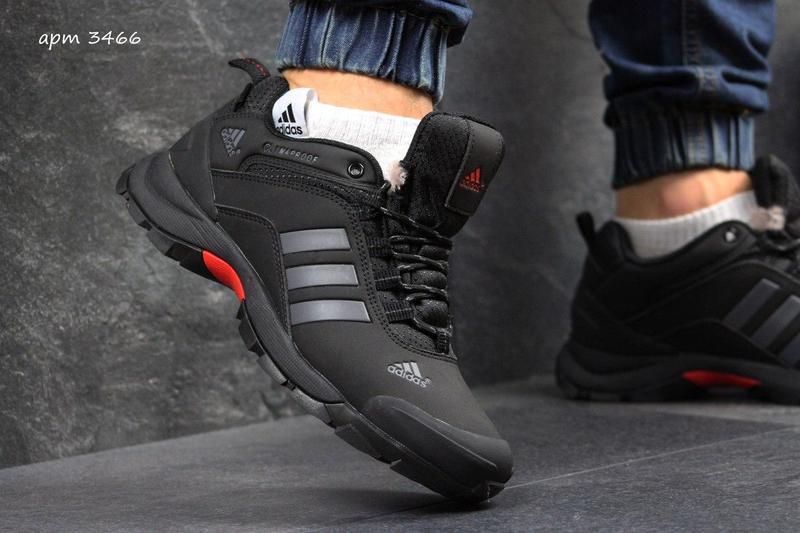 683a13aad6c4a6 Чоловічі зимові кросівки Adidas Climaproof (3466) чорні з сірим - Камала в  Хмельницком