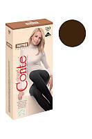 КОЛГОТЫ - CONTE хлопковые COTTON - 150 den chocolate - 4