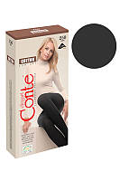 КОЛГОТЫ - CONTE хлопковые COTTON - 250 den grafit - 4