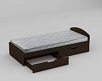Кровать 90 с ящиками, ДСП
